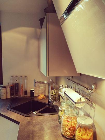 Zlew narożny w kuchni na wymiar Opole